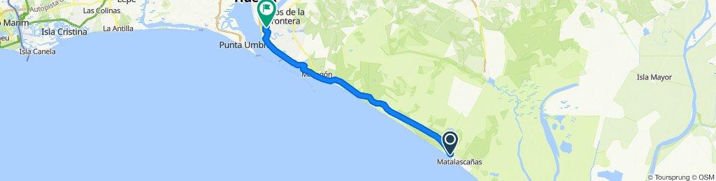 Doñana 2 (Matalascañas - La Rábida)
