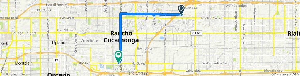 Cracking ride in Rancho Cucamonga