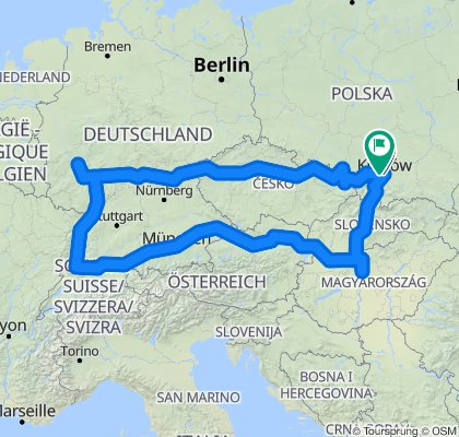 3000 KM EAST