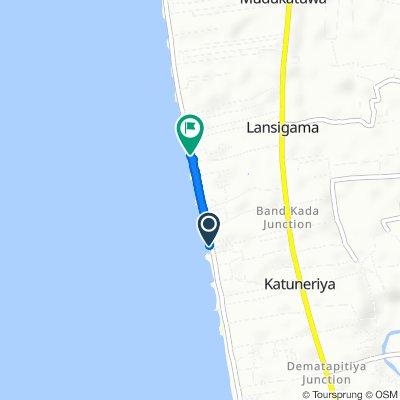 Slow ride in Katuneriya