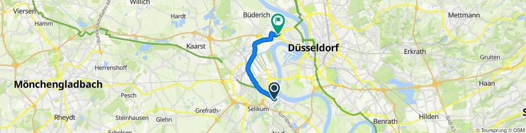 Magnolienweg 5, Neuss to Viersener Straße 45, Düsseldorf