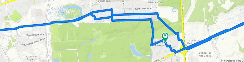 Велоездки зимние теплые сухие ветровые: Электрозаводская - Балашиха 20 01 2020