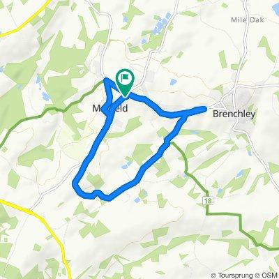 High-speed route in Tonbridge
