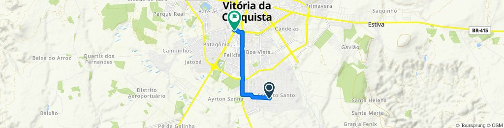 Rota rápida em Brasil