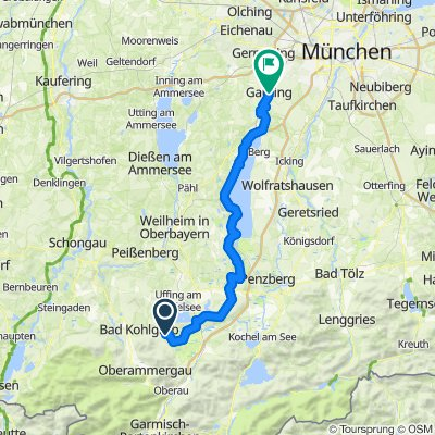 Kunst und Kultur Querverbindung Gauting-Murnau via Starnberger See