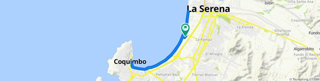 Paseo rápido en La Serena