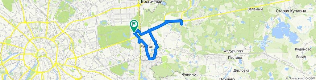 Компактные зимние ветро-дождевые велоездки Балашиха-Реутов 21 01 2020