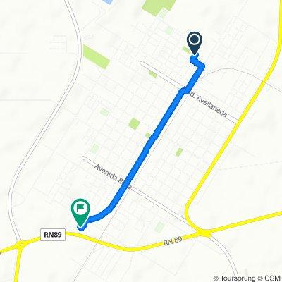Ruta relajada en Moreno
