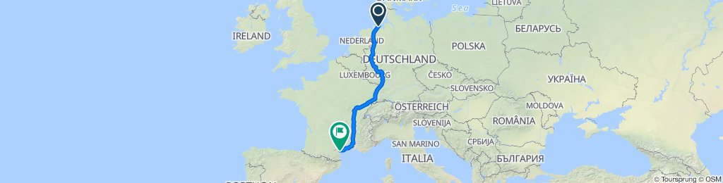 Jever-Mettmann-Mulhouse-Besancon-Nissan