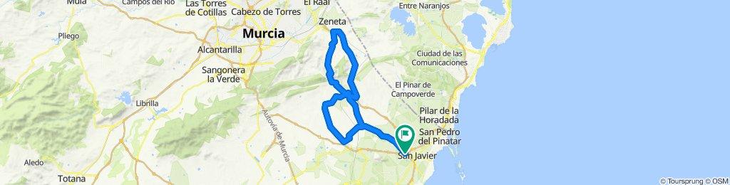 San Javier - 2ª etapa Interclub Campo de Cartagena - Mar Menor 25-01-2020