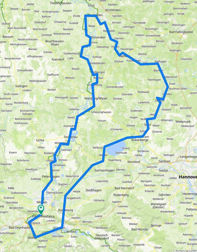 Weser - Aller - Leine - Runde
