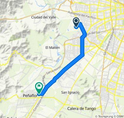 Ruta supersónica en Peñaflor
