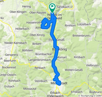 Mit dem Odenwaldferrari nach Michelstadt