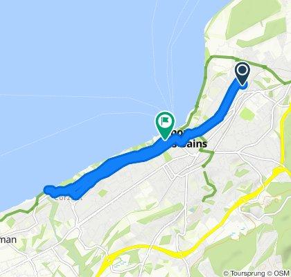 Itinéraire facile en Thonon-les-Bains