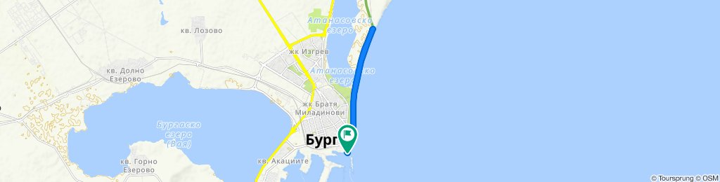 Port Burgas to salt like Burgas