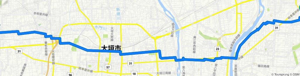 Steady ride in Gifu