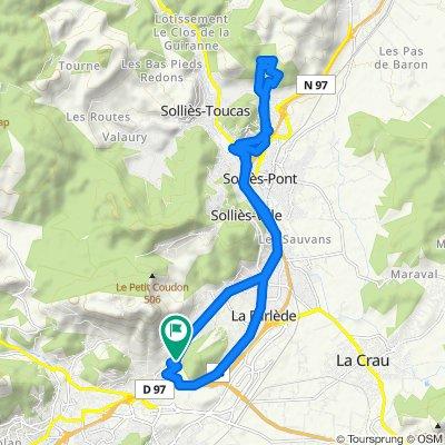 Itinéraire confortable en La Valette-du-Var