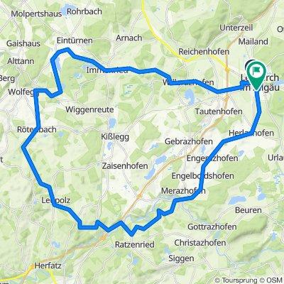 Leutkirch-Eintürnenberg-Radrunde