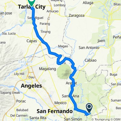 Restful ride in Tarlac City