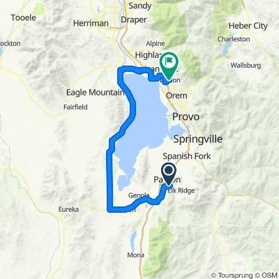 Utah Lake to Work
