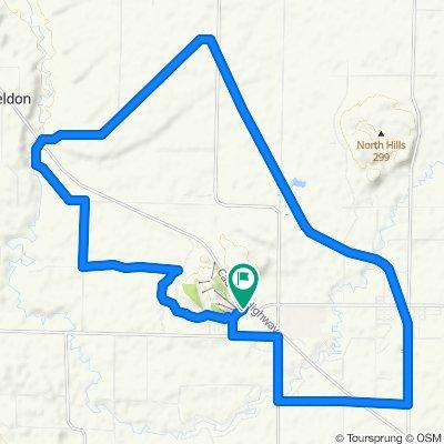 Bike Benzi 20 Mile Gravel Route