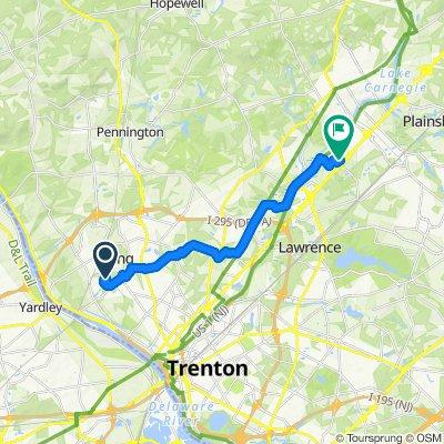Slow ride in Princeton