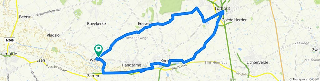 Hogestraat 17A, Kortemark to Hogestraat 15C, Kortemark