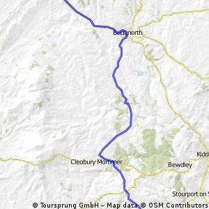 LEJoG Stage 9: Great Witley to Much Wenlock