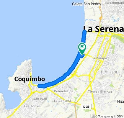 Ruta tranquila en La Serena