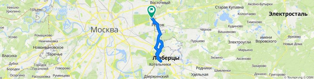 Зимние велоездки в Люберцы 23 01 2020