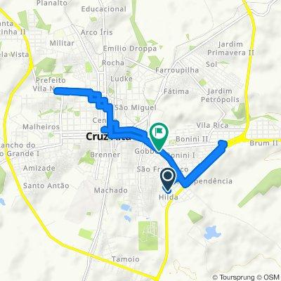 Passeio rápido em Cruz Alta