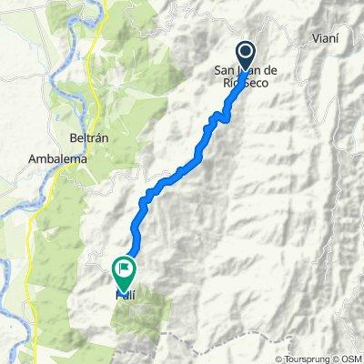 MTB de San Juan de Rioseco hasta puli Cundinamarca