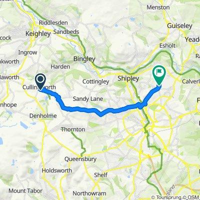 3 Manor Gardens, Bradford to Javelin House, Javelin Close, Bradford