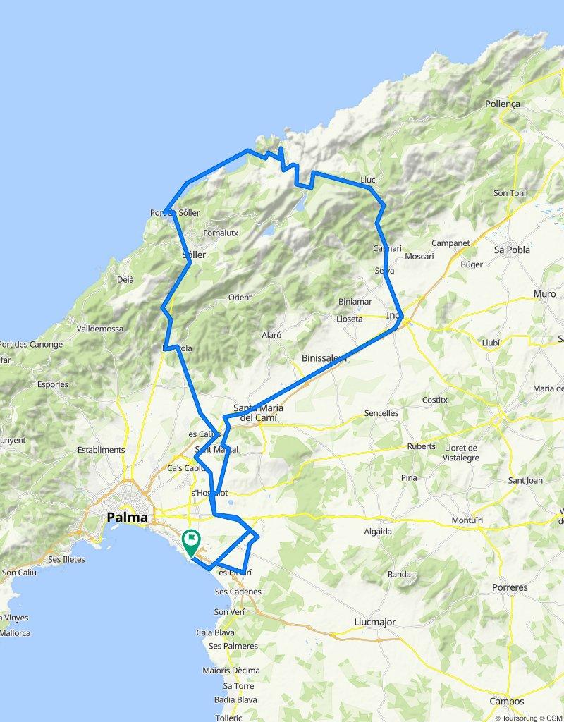 Can Pastilla Port Soller SA Calobra
