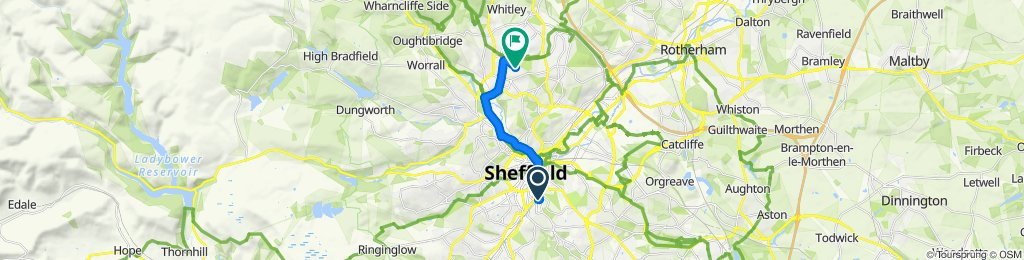 Olive Grove Centre, 2 Olive Grove Road, Sheffield to 25 Symons Crescent, Sheffield