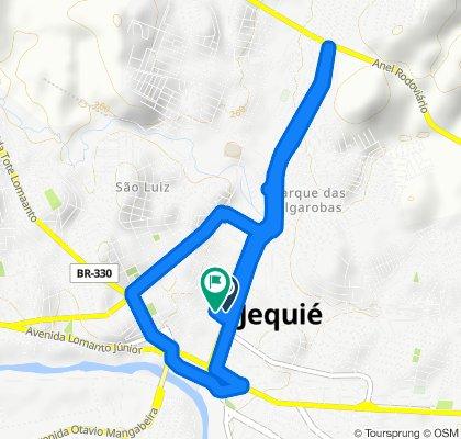 Avenida Castelo Branco, Jequié to Rua Isaac Sampaio, 83, Jequié