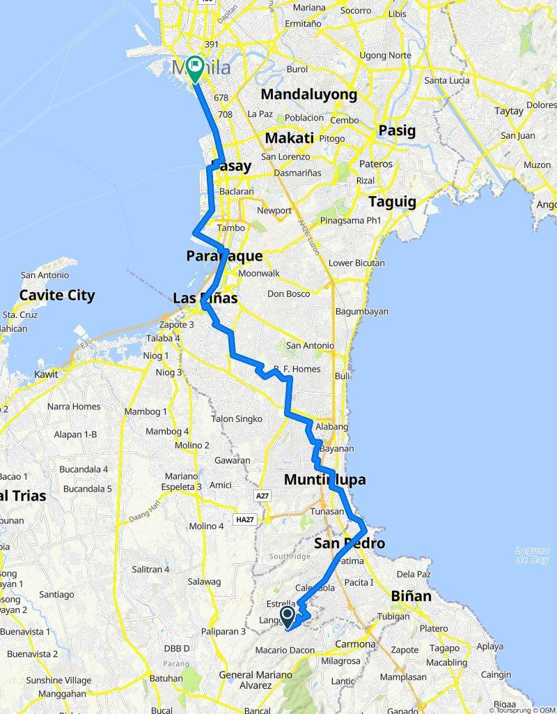 Easy ride in Manila