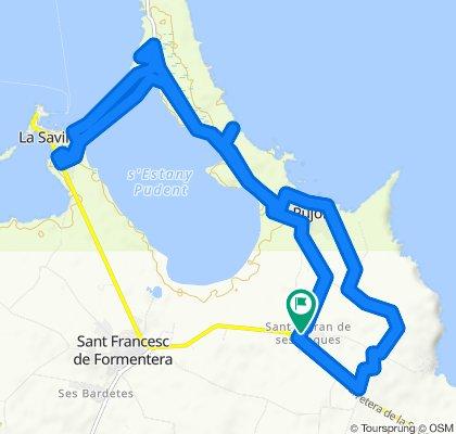 Ruta constante en Formentera