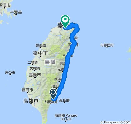 East Taiwan Cycling 2020