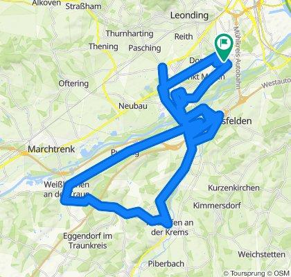 Fraunhoferweg 17, Linz to Fraunhoferweg 17, Linz