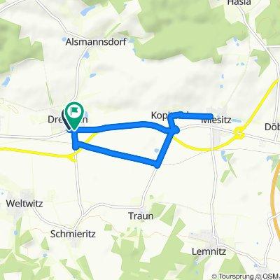 An der Kreisstraße, Dreitzsch to An der Kreisstraße 6, Dreitzsch