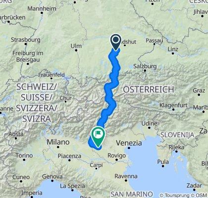 Munich To Verona