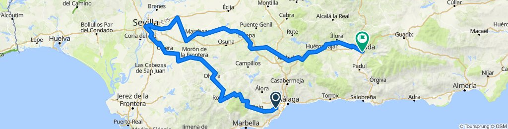 Tour of Andalucia