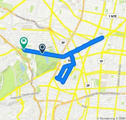 Paseo rápido en Ciudad de México
