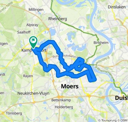Niederrhein-Tour
