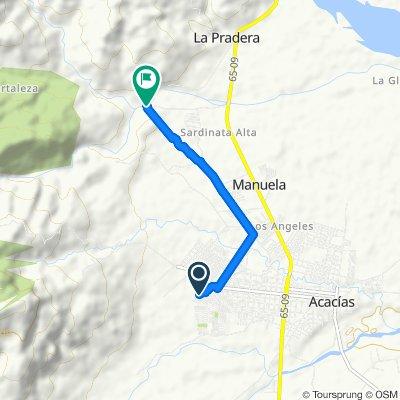 Ruta moderada en Colombia