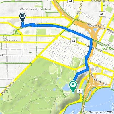 20 Tate Street, West Leederville to Fraser Avenue, Kings Park