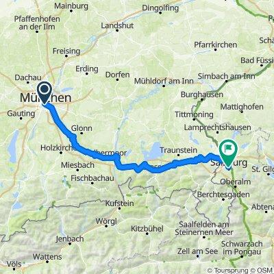 Munich to Salzburg