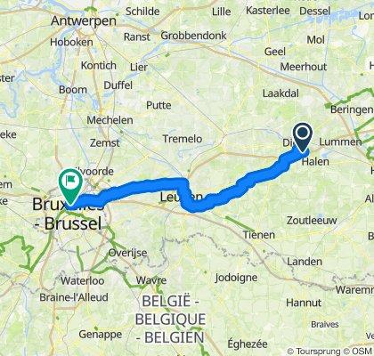 Von Diest nach Brussel (3)
