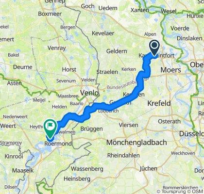 Von Kamp-Lintfort nach Horn/NL